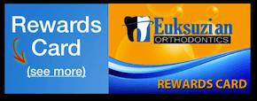 Office Rewards Card - Sarkis Euksuzian - Medford Orthodontics, NJ